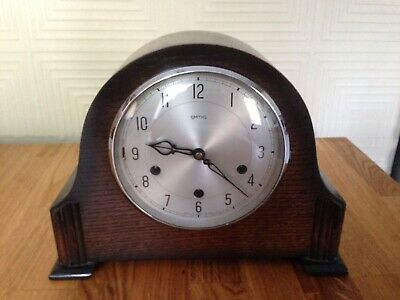 Antique/vintage Smiths (1950s) Westminster Chiming Mantle Clock