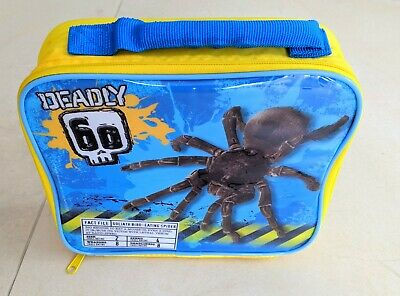 Zak BBC Earth, Deadly 60, Spider, Insulated School Lunch Bag, Lunch Box