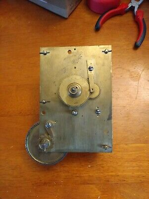 Fusee Clock Movement only working condition