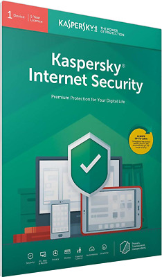 Kaspersky Internet Security 2019 | 1 Device | 1 Year | Flat Pack (by Post/EU)