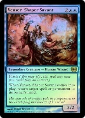 Mtg 1x Scout/'s warning-Future sight rare foil NM *