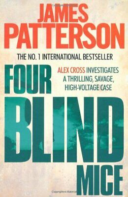 Four Blind Mice by James Patterson, NEW Book, FREE & , (Paperback)