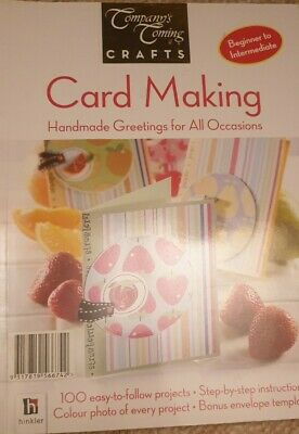 Card Making Paperback Book HANDMADE GREETINGS FOR ALL OCCASIONS Over 100 Project