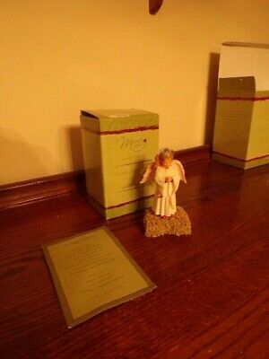 MAMA SAYS Nativity Collection STANDING ANGEL Kathy Andrews Fincher Demdaco MIB
