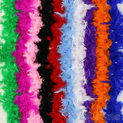 2M Women Lady Gatsby Hollywood Party Fluffy Feather Boa Costume prop decoration
