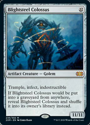 MTG Magic the Gathering Blightsteel Colossus Double Masters Mythic Rare Mint!