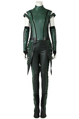 Guardians of The Galaxy 2 Mantis Full set Cosplay Costume Halloween +Shoes