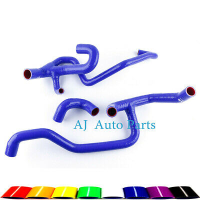 Silicone Radiator Water Hoses for 1998-2004 Land Rover Discovery 2 4.0L V8 Blue