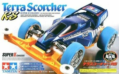 Tamiya Terra Conqueror RS 1//32 Racing Mini 4WD Factory Sealed VS Chassis Japan