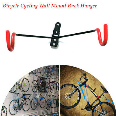 Double Folding Bike Rack Racor Inc PSB2R store 2 bikes flat against wall