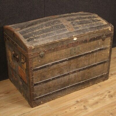 Trunk French Furniture Wooden Antique Style Chest Cupboard 900