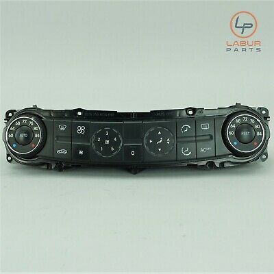 211 830 0685MERCEDES OEM A//C TEMP CLIMATE CONTROL PANEL SWITCH BUTTONS