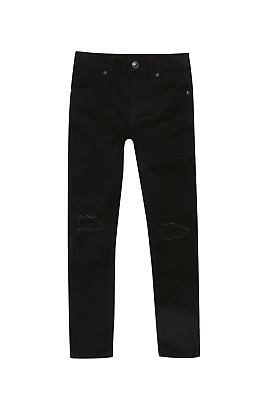 Boys black skinny jeans Danny ripped- River island 11 years