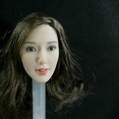 """VERYCOOL 1//6 Asian Dilraba Straight Hair Carving VCL-1006B F 12/"""" Action Figure"""