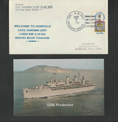 USS PIEDMONT AD 17 Hitch Cover Military USN U S Navy