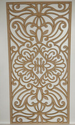 Radiator Cabinet decor. Screening Perforated 3mm & 6mm thick MDF laser cut G9