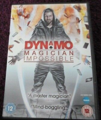 Dynamo*Magician Impossible*DVD*SERIES ONE (1)*DVD*MAGIC*TRICKS*2 DISC*RATED 12