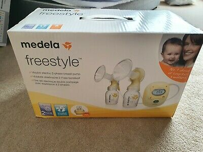 Medela Freestyle Double Electric 2 Phase Breast Pump Barely used. Excellent cond