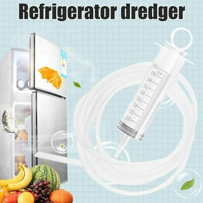 Refrigerator Drain Hole Dredge Clog Remover Tool Unblocker Cleaner Plunger New