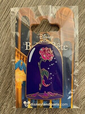 Pin Disney Disneyland Paris Belle et La Bête Beauty and the Beast La Rose OE