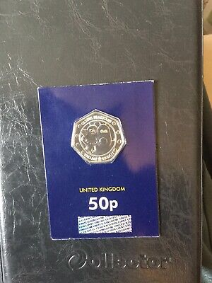 2019 wallace and gromit 50p coin.change Checker Certified BU