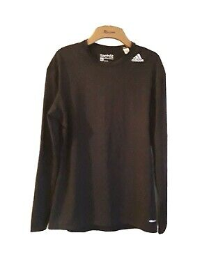 Adidas mens  Techfit Compression Base Layer  long sleeve  XL