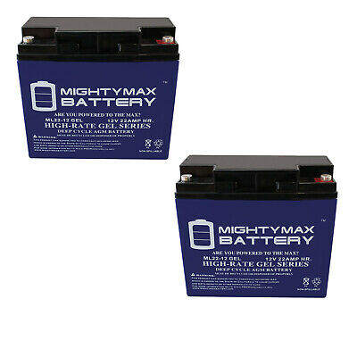 Pro 520i UPS Battery Mighty Max Battery 12V 8Ah para Systems-Minuteman Pro 520 2 Pack Brand Product