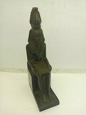RARE ANCIENT EGYPTIAN ANTIQUE RAMSES III Statue 1230-1190 BC