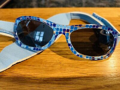Blue Unisex Baby/toddler Sunglasses. Kiddus. Age 0-2 Years. Good Condition