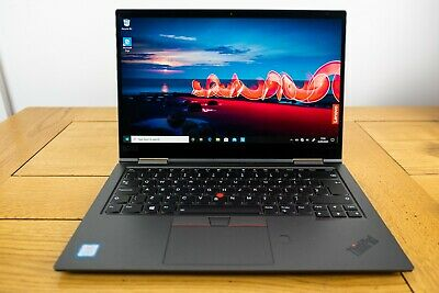 Lenovo X1 Yoga 4th Gen Intel i5 8265U 16GB RAM 256 SSD Win10 Pro Tablet Hybrid