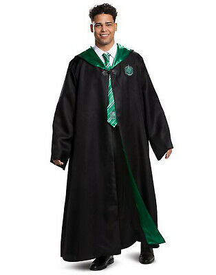 Slytherin Mens Adult Harry Potter Hogwarts House Deluxe Costume Robe