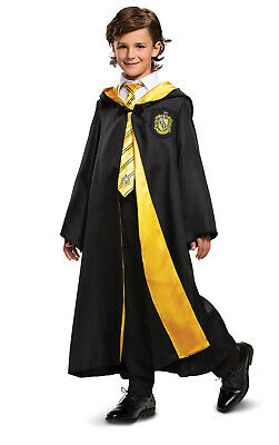 Hufflepuff Boys Child Harry Potter Hogwarts House Deluxe Costume Robe