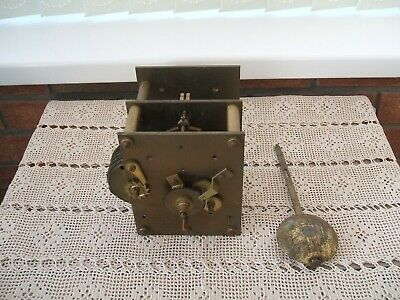 Antique / Fusee Chain Driven Clock Movement Only