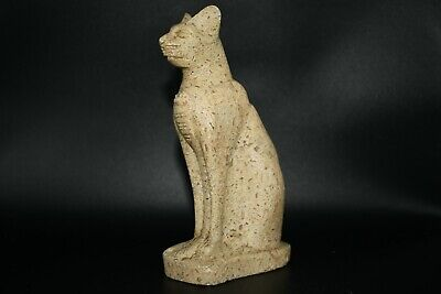 A Very Lovely Ancient Egyptian Designed Anubis God Of Dead Jasper Stone Statue