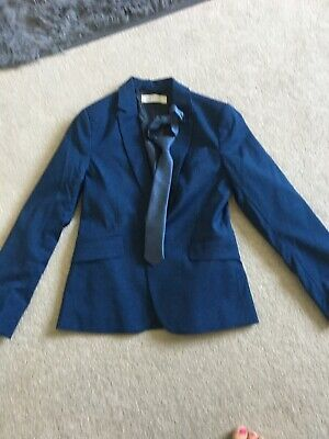 Boys Suit Jacket With Tie H And M Size 9-10