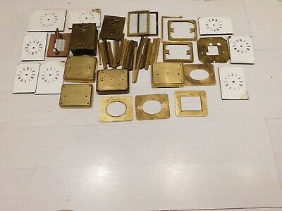 Antique Carriage Clock Parts. A Large Quantity For Spares/Repairs.