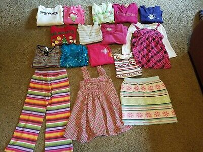 Mixed Lot of 16 Pieces Girls Clothing Size 6