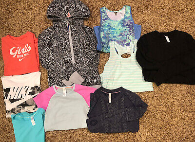 Ivivva and Nike Girls clothes lot size 10/Medium
