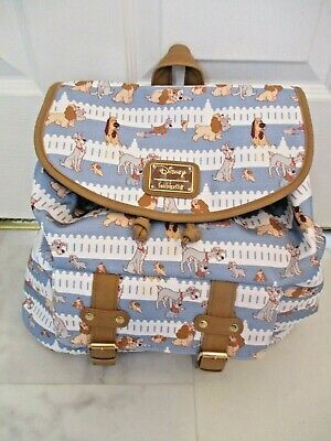 Loungefly Disney Lady And The Tramp Rucksack Bag Backpack Nwt Htf 60 99 Picclick