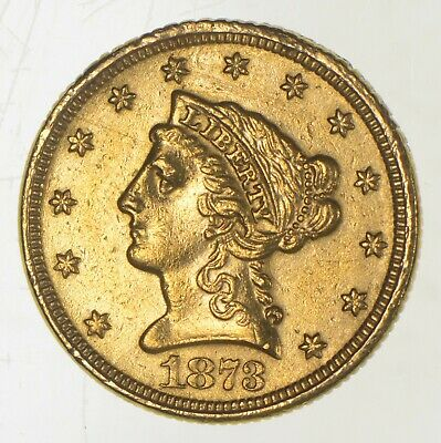 1873 $2.50 Quarter Eagle Liberty Head - U.S. Gold Coin *233
