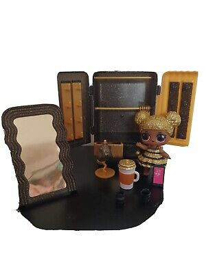 Lol Doll Surprise Queen Bee Doll And Furniture Set Vgc