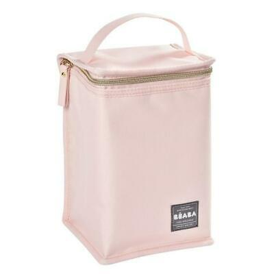BEABA Pochette repas isotherme rose nude-gold