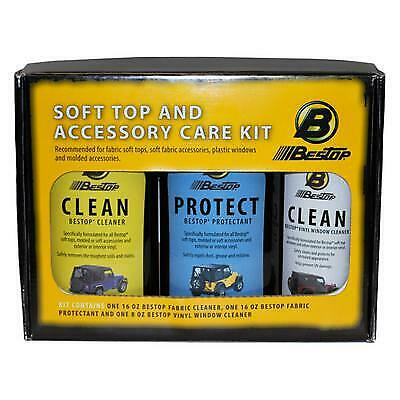 Bestop Cleaner And Protectant Pack - 11215-00