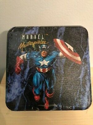 1993 Skybox Marvel Masterpieces Series 1 Collectors Cards/Tin, Factory Sealed