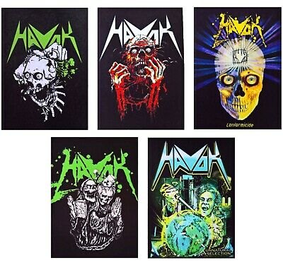 Death band patch DIY printed textile patch death metal hard rock heavy thrash