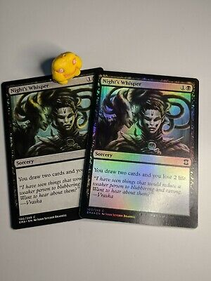 Eternal Masters Night/'s Whisper Lightly Played Foil