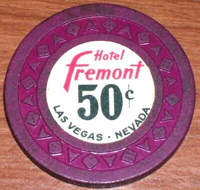 50 Cent 3Rd Edition Fractional Gaming Chip From The Fremont Casino Las Vegas Nv