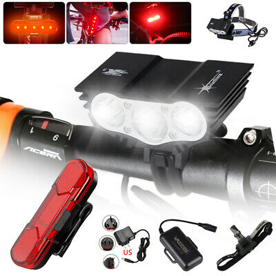 12000Lm 3 x XML T6 LED 4 Modes Bicycle Lamp Bike Light Headlight Cycling To SS6