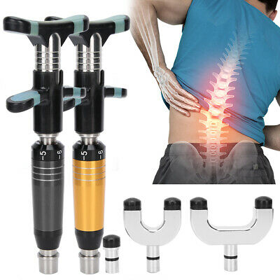 Manual Chiropractic Adjusting Tool Bone Spine Correction Pain Relief Massager