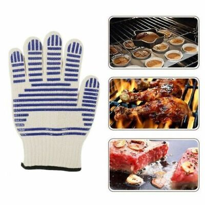 Heat Proof Oven Glove BBQ Resistant Cooking Kitchen 540°F Hot Surface Handler